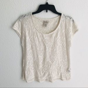 Lucky Brand | lace top XS